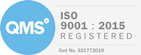 IS0 9001 Reg logo
