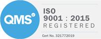 IS0 9001 Reg logo